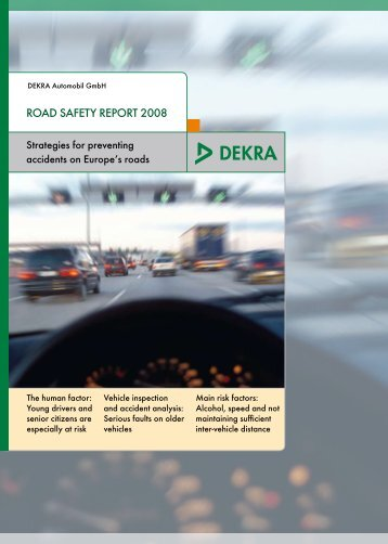 RoAD SAFETy REpoRT 2008 - Velocidade