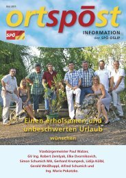 Ortspost SPÖ Oslip