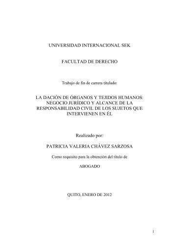 Tesis Dación de Órganos y Tejidos Humanos - Patricia Chávez.pdf