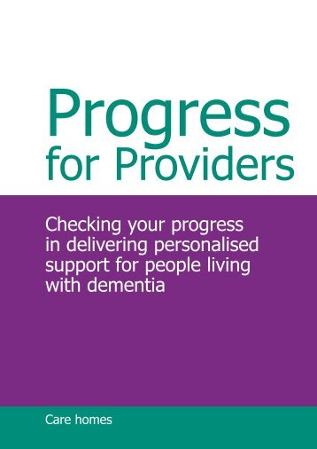 Checking your progress in delivering personalised support for ...