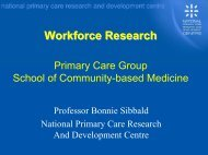 Workforce Research