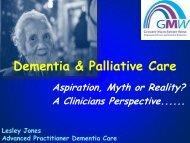 Dementia & Palliative Care