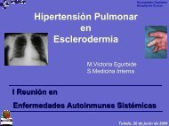 Hipertensión pulmonar en esclerodermia