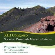 Programa Preliminar XIII SOCA... - EXTRANET - Hospital ...
