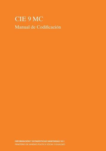 manual de codificación 2011 - EXTRANET - Hospital Universitario ...