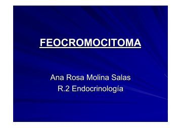 FEOCROMOCITOMA - EXTRANET - Hospital Universitario Cruces