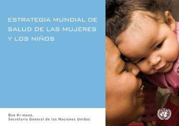 ESTRATEGIA MUNDIAL DE SALUD DE LAS MUJERES Y LOS NIÑOS