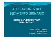glomerular. - EXTRANET - Hospital Universitario Cruces