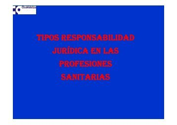 Responsabilidad del profesional farmaceutico for Responsabilidad legal
