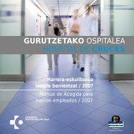 GURUTZETAKO OSPITALEA HOSPITAL DE CRUCES - EXTRANET ...