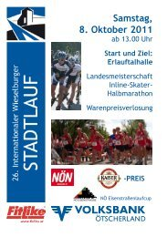 Samstag, 8. Oktober 2011 - Stadtgemeinde Wieselburg