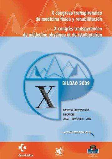 X Congreso Transpirenaico de Medicina Física y Rehabilitación