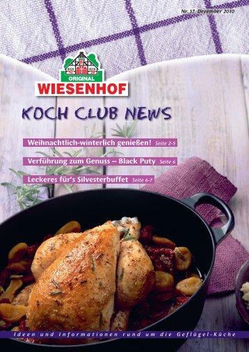 Seite 2-5 Verführung zum Genuss - WIESENHOF Koch-Club
