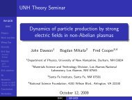 Dynamics of particle production by strong electric fields in non ...