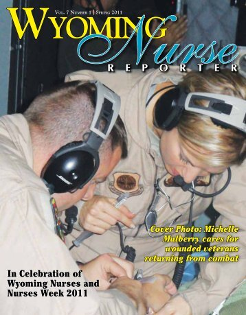Nurse Reporter Spring 2011 - Wyoming State Board of Nursing
