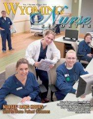 Nurse Reporter Fall 2011 - Wyoming State Board of Nursing