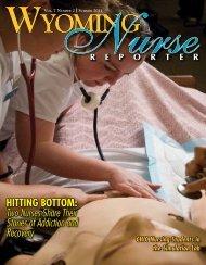 Nurse Reporter Summer 2010 - Wyoming State Board of Nursing