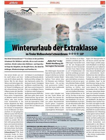 Winterurlaub der Extraklasse