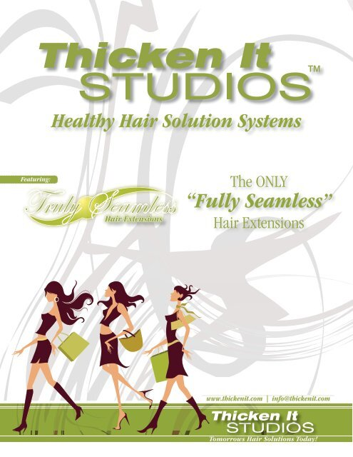 Hair Extensions - Thicken It