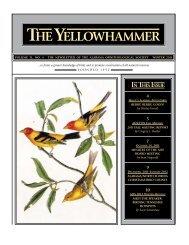 YH Winter 2011 internet.indd - Alabama Ornithological Society