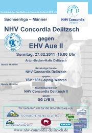 EHV Aue II - NHV Concordia Delitzsch 2010 eV