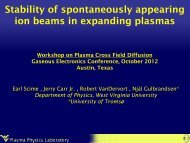 Stability of spontaneously appearing ion beams in expanding plasmas