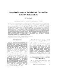 Stormtime Dynamics of the Relativistic Electron Flux in Earth's ...