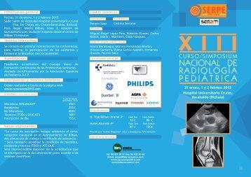 xiii curso/simposium nacional de radiología ... - Lidera Eventos