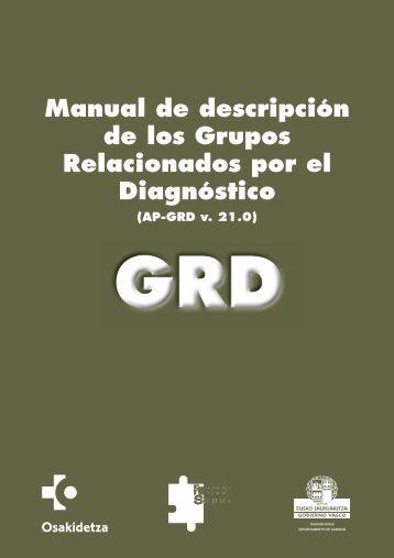 manual grd - EXTRANET - Hospital Universitario Cruces