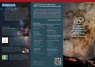 Outreach - Zentrum für Astronomie