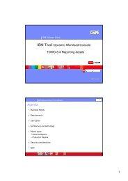 IBM Tivoli Workload Scheduler 8.4.0 reporting details. - Nordic TWS ...