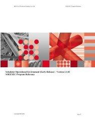 SOEEXEC Program Reference V2.1.02 - Nordic TWS conference