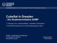 CubeSat in Dresden
