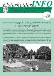 amts- und informationsblatt der gemeinde - Gemeinde Elsterheide