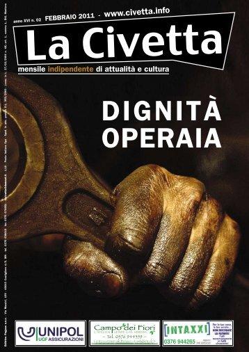DIGNITÀ OPERAIA - La Civetta