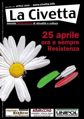 25 aprile - La Civetta