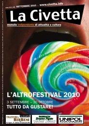L'ALTROFESTIVAL 2010 - La Civetta