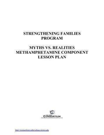 Life Skills Training Methamphetamine Component Lesson Plan