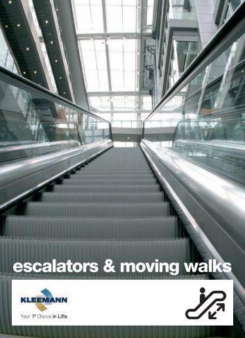 escalators & moving walks - Kleemann Lifts