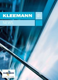 to download the attached file [pdf]. - Kleemann Lifts