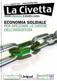 ECONOMIA SOLIDALE - La Civetta