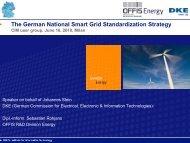 05 Smart Grid Panel CIMug German Roadmap