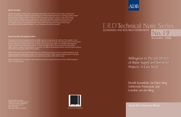 Technical Note Series No.19 - ACT - Advanced Communication ...