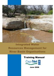 Integrated Water Resources Management for River Basin ...