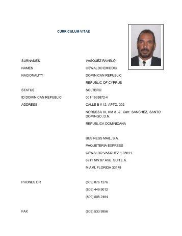 Curriculum Vitae Personal Details Surname Tzortzakis Name