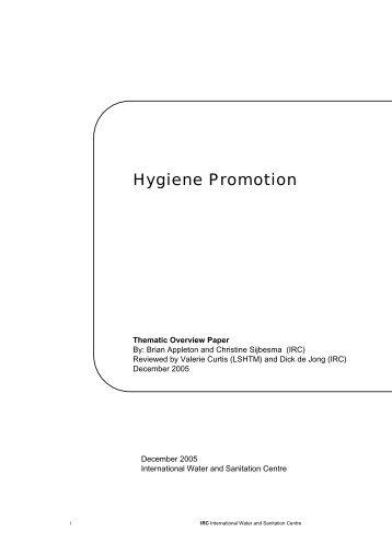 Hygiene Promotion - ACT - Advanced Communication Technologies