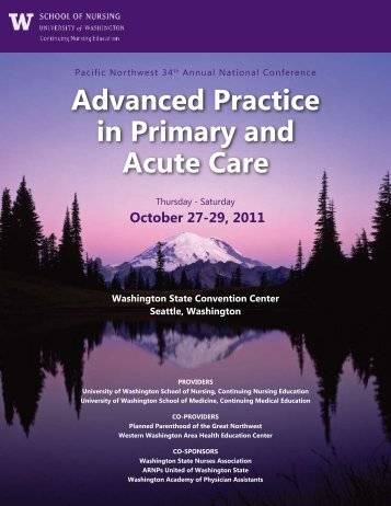 Advanced Practice in Primary and Acute Care - Wyoming State ...