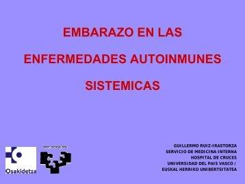 embarazo en las enfermedades autoinmunes sistemicas