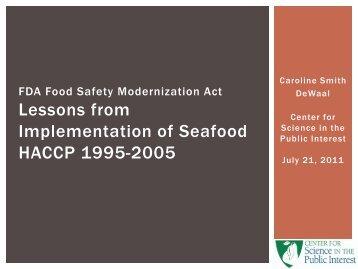HACCP [PDF Download] - Kayser.