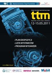 plan ekspozycji • lista wystawców • program wydarzeń - TTM